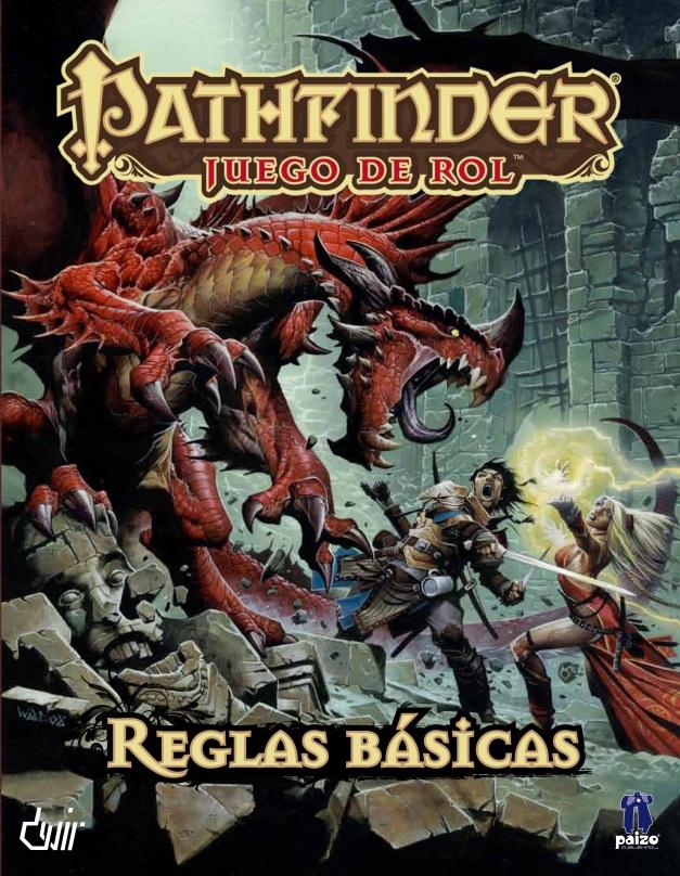 Para un mundo lleno de Dragones como es el de Dragonlance, que en la portada del Pathfinder tenga un Dragón inspira mucha confianza.