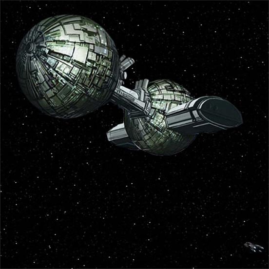 Estación Orbital y USS Ranger