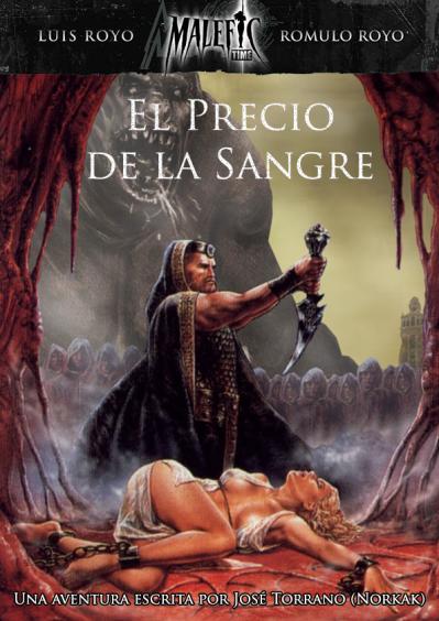 """El Precio de la Sangre, una nueva aventura de José Torrano """"Norkak"""" para Malefic TIme: Plenilunio JdR"""